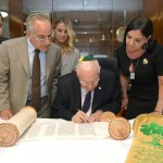 Memorial with President Rivlin