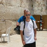 Max at the Kotel