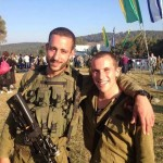 Beret ceremony- with ex commander Itzik