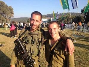 Beret ceremony- with ex commander Itzik